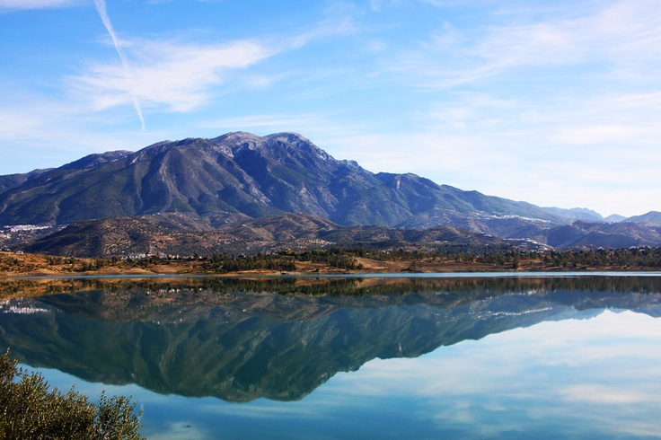 Spain: Lake Vinuela east of Malaga