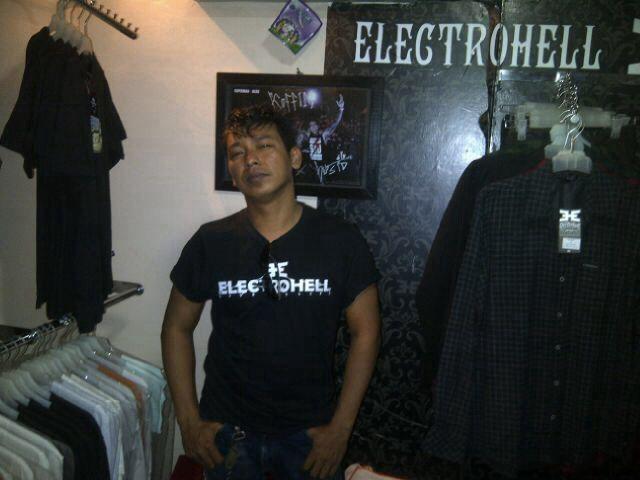 electrohell at @KoffinYk jogja