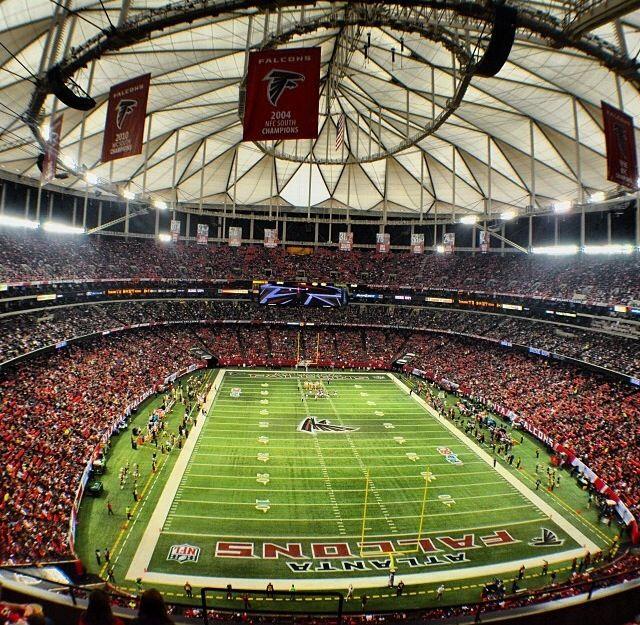 Georgia Dome - home to the Falcons