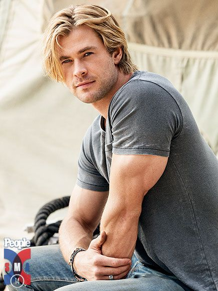 Sexiest Man Alive Chris Hemsworth: I Learned to Be Sexy from Matt Damon http://www.people.com/people/package/article/0,,20315920_20873902,00.html