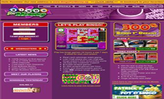 "Bingo For Money is an online bingo room brand, founded in 2001, within the ""Winward  Gaming Group"", and is licensed in Costa Rica. The ""Bingo For Money"" site accepts players  from USA and serves in English only.      Bingo For Money offers you bonus  ..."