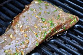 the parsley thief: Grilled Tri-Tip with Tequila Marinade