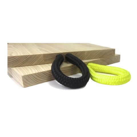 PAPER PLANE - Chopping Board with Marine Rope