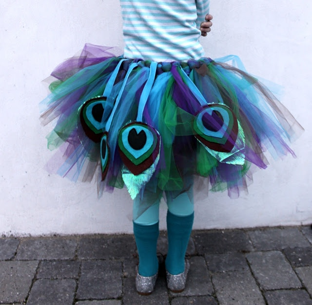 Easy Peasy Peacock Costume