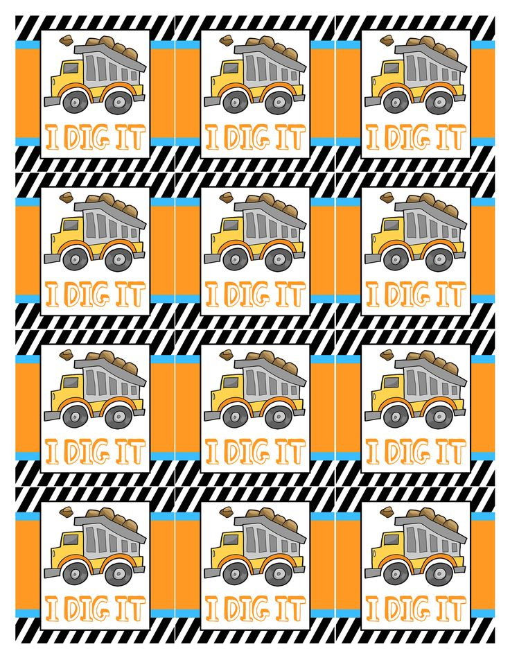 Construction Themed Birthday Party with FREE Printables ...