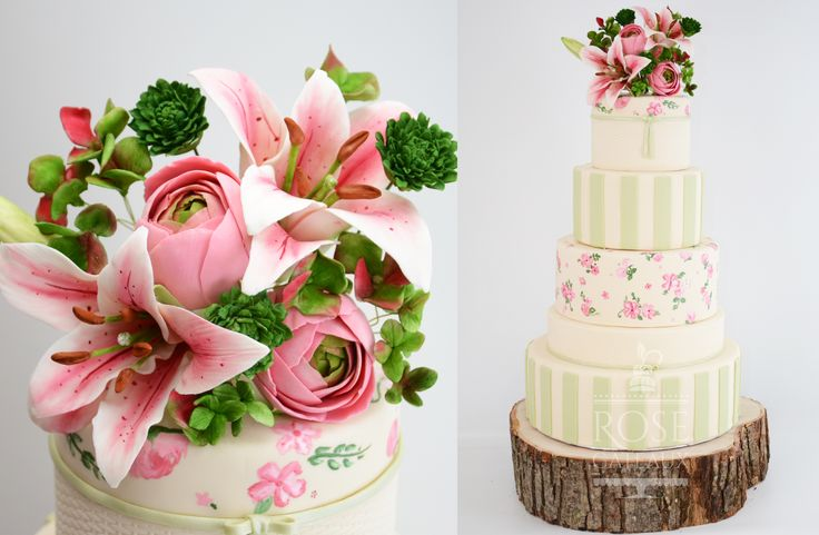 ... about Gâteau de mariage on Pinterest  Mariage, Bonbon and Papillons