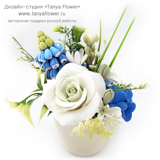 Tanya Flower: Flowers (decoclay)