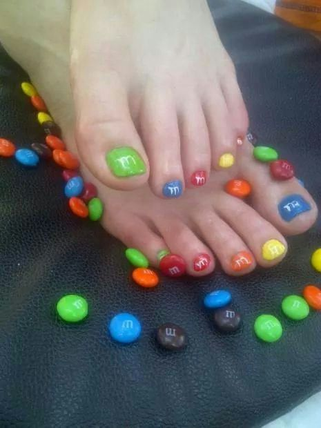 34 best easter toe nail art designs images on pinterest make up mms nails for my girls prinsesfo Image collections