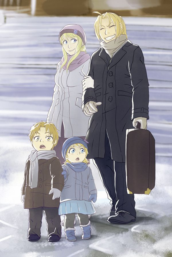 142 best Fullmetal Alchemist (Ed x Winry) images on ...