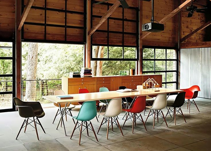 Eames Chairs, Living Room