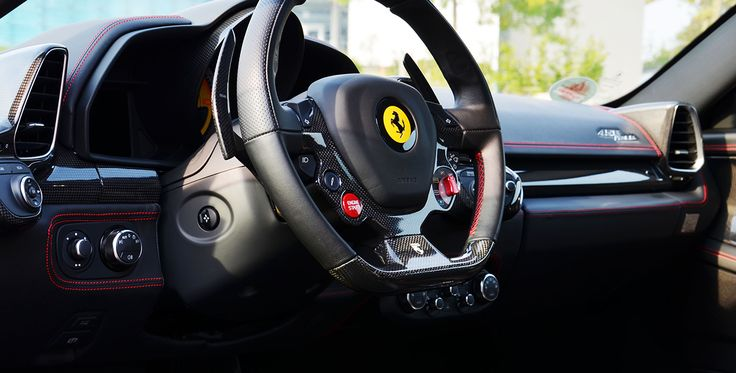 6 Runden Renntaxi Ferrari 458 Italia auf dem Spreewaldring #Sportwagen #motor #auto