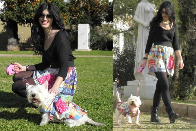 Dog fashion-passion outfit