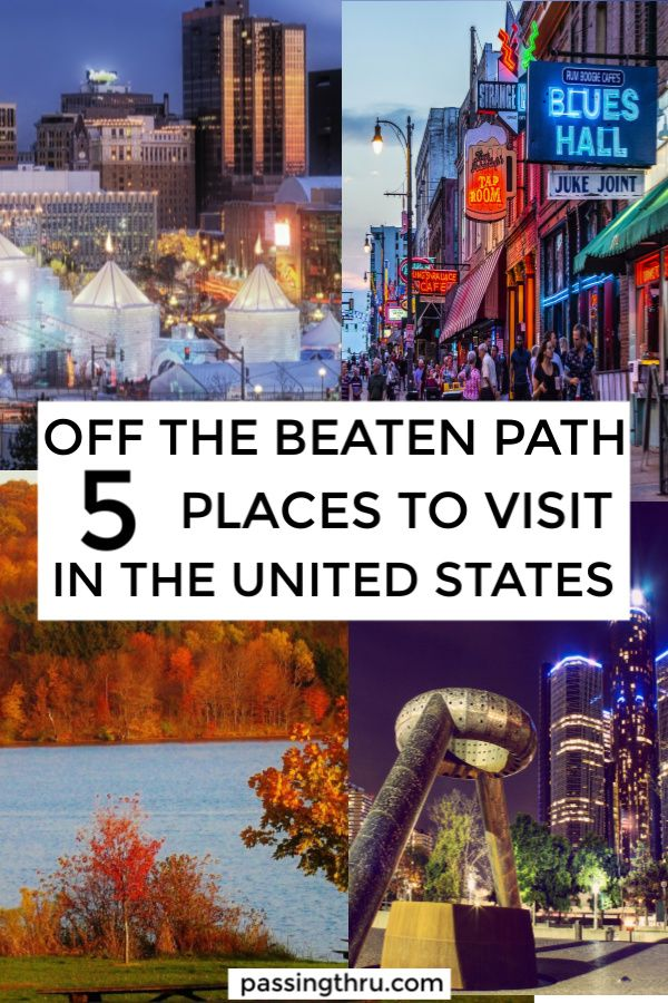 Where To Go In The Usa Off The Beaten Path 5 Underrated Places To Visit In The Usa Right Now Usa Travel Destinations Places To Visit Travel Usa