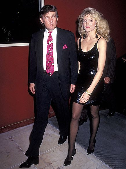 12 Photos of Birthday Boy Donald Trump (He's 70!) in His Glitzy, Glamorous, Pre-Presidential Election Life |  | New decade, new woman! Trump is seen with Marla Maples at the Trump Plaza Hotel in Atlantic City, just two years before their marriage.