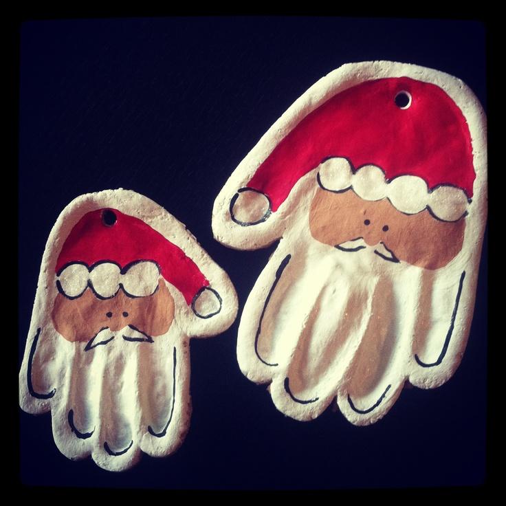 Main Père Noël