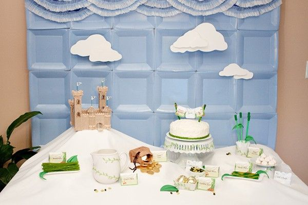 paper plate backdrop. Square plates used to create a blue sky background. genius idea & 18 best Paper Plate Backdrop images on Pinterest   Birthday party ...