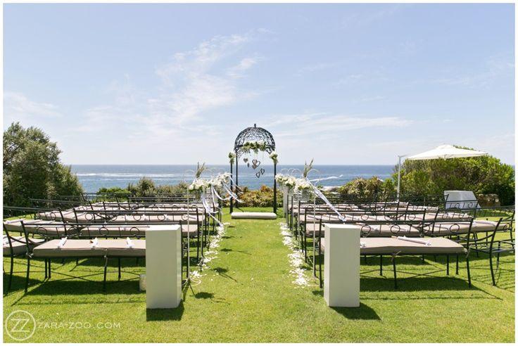 #CapeTown #wedding #venue #12Apostles Outside garden #Ceremony #ZaraZoo Photography