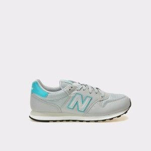 Pantofi sport NEW BALANCE gri, Gw500, din material textil si piele