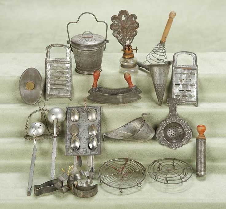 Miniature utensils