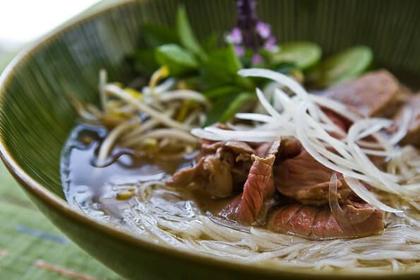 Crock Pot Pho (Vietnamese Beef Noodle Soup) ~ This is the simplest yet authentic recipe I've found