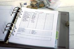 Haushaltsbuch Freebie zum Ausdrucken