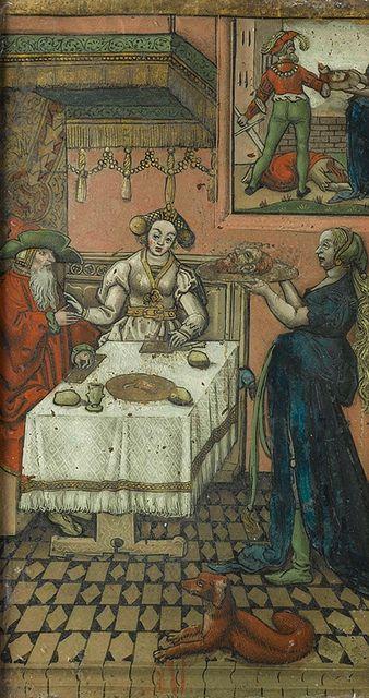 Salome met het hoofd van Johannes de Doper, Lucas van Leyden, ca. 1550 - ca. 1600 by Public Domain Review, via Flickr