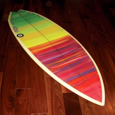surfboard love the design but it is also a swallow tail ❤️