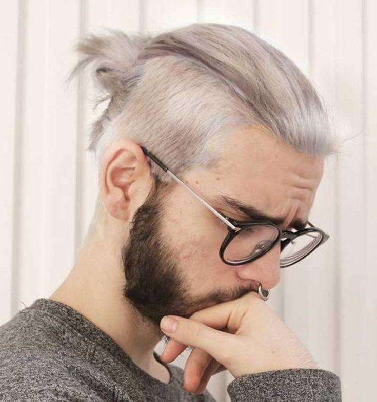 Low Man Bun In 2020 Man Bun Hairstyles Mens Hairstyles Cool Hairstyles