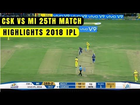 ipl 2018 full match video download