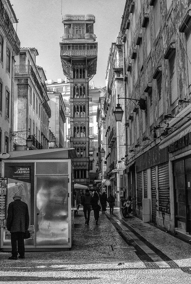 Fotos de Lisboa en blanco y negro | Turismo en Portugal (shared via SlingPic)