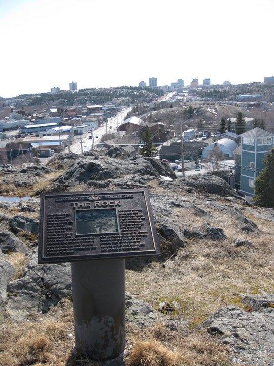 Yellowknife, Canada. The NWT.