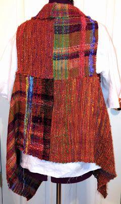 Color Fiber Texture: Saori Style Clothing