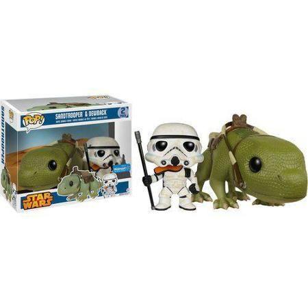 Funko Pop Star Wars Vinyl Figures Pack, Sandtrooper and Dewback - Walmart.com