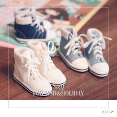 【日常运动高帮帆布板鞋】BJD  1/4 1/6  巨婴 YOSD 沙龙 IMDA3.0