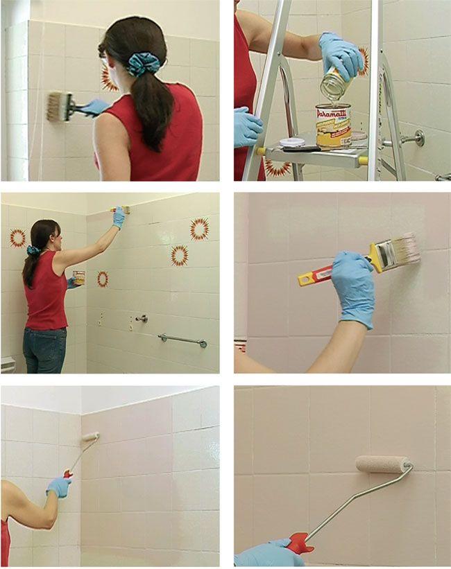 pittura per piastrelle, piastrelle, pittura per ceramica, colori per ...