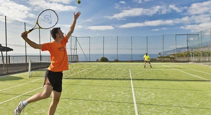 La Palma Teneguia Hotel Tennis 12