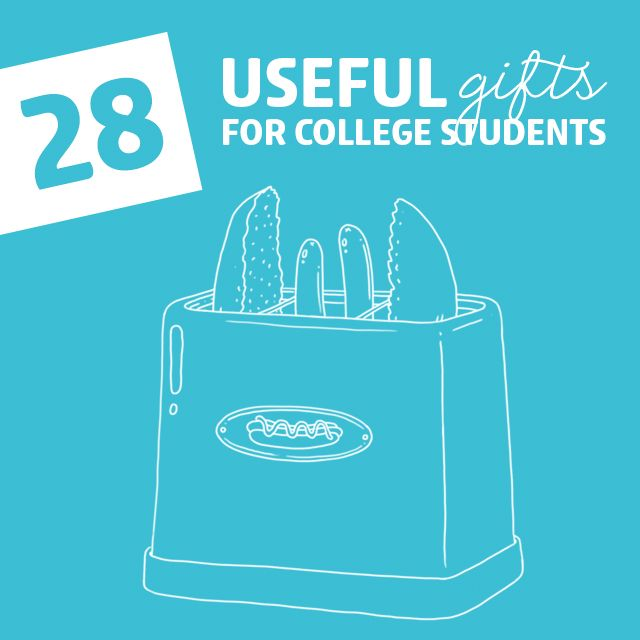 28 Useful Gifts for College Students- they'll love these gifts!
