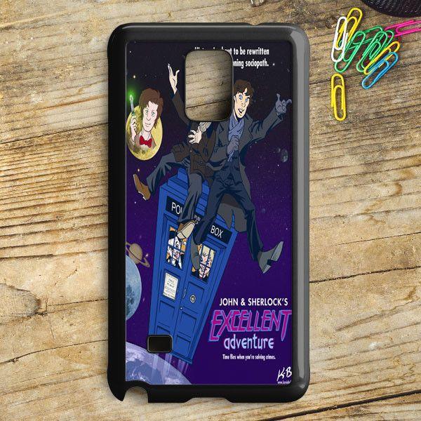 Tardis Sherlock John Samsung Galaxy Note 5 Case | armeyla.com