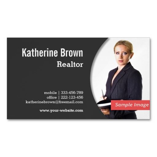519 best real estate business cards images on pinterest for Best realtor business cards