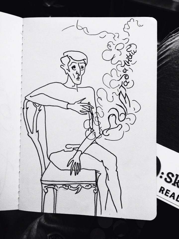 Дым табачный воздух выел