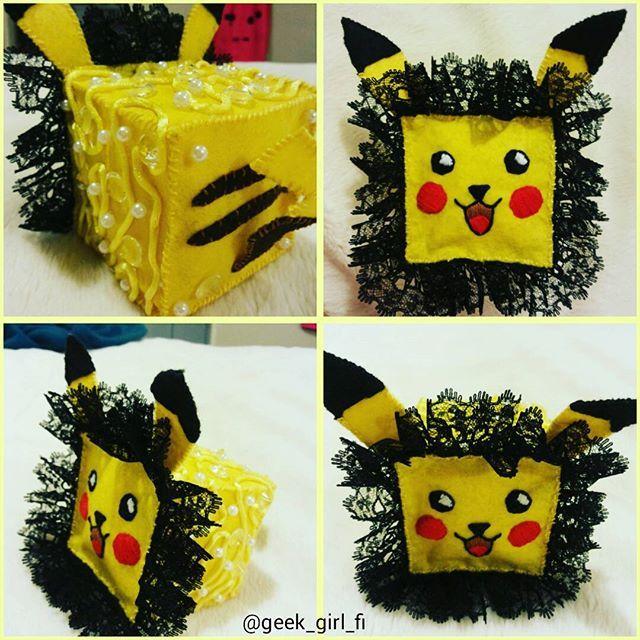 My little Pika #cutecube - #handmade #pokemonplush #pokemonart #pokemon #pikachu #pika #geek #geeky #nintendoplush #nintendo #pikapika #pokemonfan #3ds #n64 #gamer #gaming #pokémon #electric #kawaii #cute