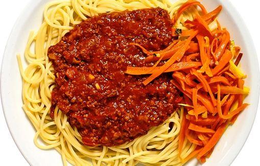 Spagetti ja jauhelihakastike
