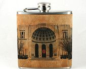 Ohio State Buckeye Vintage Girls Flask Unique by Wickensnuffers