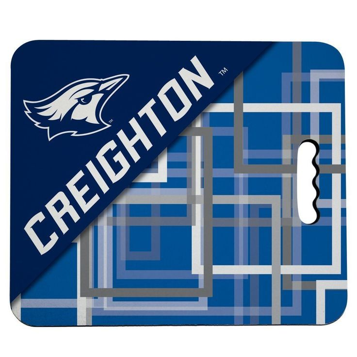 Creighton University Stadium Seat Cushion - Squares Design
