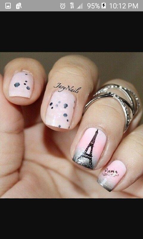 114 best Paris nails images on Pinterest | Nail scissors, Paris ...