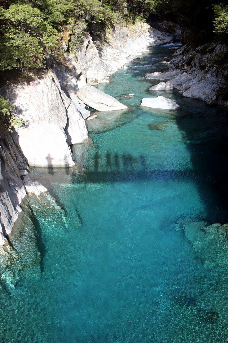 South Island River New Zealand on our #rimu trip #travel #adventuretravel #bucketlist #newzealand