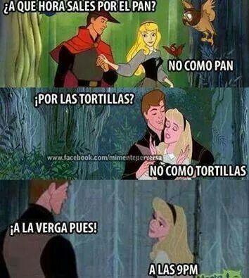 jajajaja memes princesas