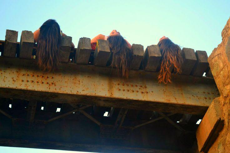friends`s hair & my hair