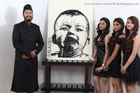 Wajid Khan Artist Best Creative Artist in India, Asia, World: Artist Wajid Khan's Bullet Art Work