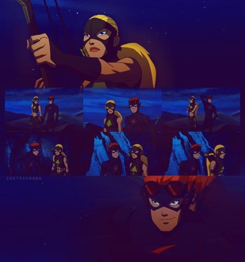 So, I'm your ninja boyfriend? -- Wally. Yeah, you are hotshot! lol XD
